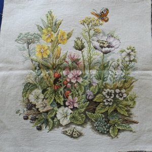 Finished cross stitch picture , No frame (#302)